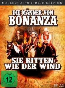 Die Männer von Bonanza - Sie ritten wie der Wind (Blu-ray & DVD), 1 Blu-ray Disc und 1 DVD