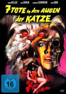 Sieben Tote in den Augen der Katze, DVD