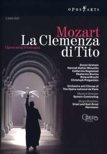Wolfgang Amadeus Mozart (1756-1791): La Clemenza di Tito, 2 DVDs