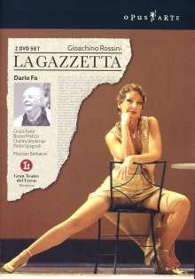 Gioacchino Rossini (1792-1868): La Gazzetta, 2 DVDs