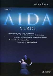 Giuseppe Verdi (1813-1901): Aida, 2 DVDs