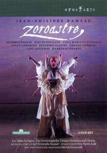 Jean Philippe Rameau (1683-1764): Zoroastre, 2 DVDs