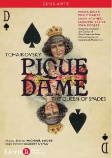 Peter Iljitsch Tschaikowsky (1840-1893): Pique Dame, 2 DVDs