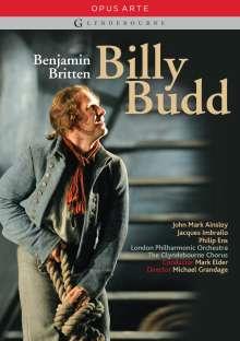 Benjamin Britten (1913-1976): Billy Budd op.50, 2 DVDs