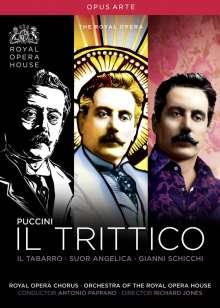 Giacomo Puccini (1858-1924): Il Trittico, 3 DVDs