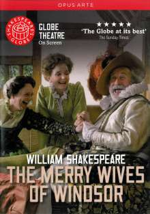 William Shakespeare - The Merry Wives of Windsor (Globe Theatre) (OmU), DVD
