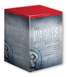 Richard Wagner (1813-1883): The Wagner Edition (OpusArte/25DVDs), 25 DVDs