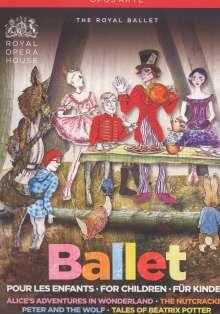 Royal Ballet Covent Garden:Pour les Enfants/For Children/Für Kinder, 4 DVDs