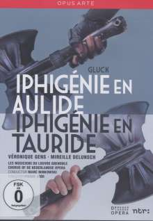 Christoph Willibald Gluck (1714-1787): Iphigenie in Aulis, 2 DVDs