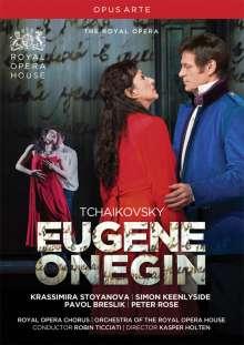 Peter Iljitsch Tschaikowsky (1840-1893): Eugen Onegin, DVD