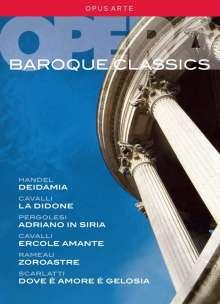 Baroque Classics - 5 Barockopern (Gesamtaufnahmen), 9 DVDs