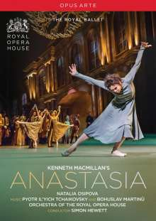 Royal Ballet Covent Garden - Kenneth MacMillan's Anastasia, DVD