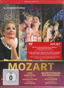 Wolfgang Amadeus Mozart (1756-1791): 3 Opern, 3 DVDs