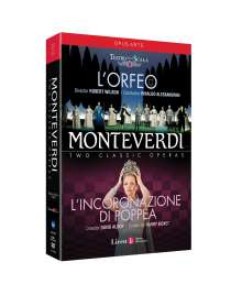 Claudio Monteverdi (1567-1643): L'Orfeo, 2 DVDs