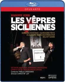 Giuseppe Verdi (1813-1901): I Vespri Siciliani, Blu-ray Disc