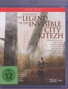 Nikolai Rimsky-Korssakoff (1844-1908): Die Legende der unsichtbaren Stadt Kitesh, Blu-ray Disc