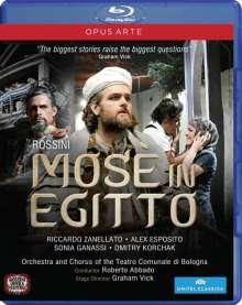 Gioacchino Rossini (1792-1868): Mose in Egitto (Fassung von 1819), Blu-ray Disc