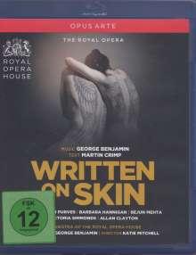 George Benjamin (geb. 1960): Written on Skin, Blu-ray Disc