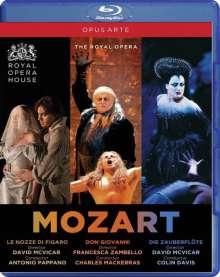Wolfgang Amadeus Mozart (1756-1791): 3 Opern (Royal Opera House Covent Garden), 5 Blu-ray Discs