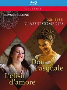 "Gaetano Donizetti (1797-1848): 2 Operngesamtaufnahmen ""Classic Comedies"", 2 Blu-ray Discs"