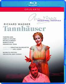 Richard Wagner (1813-1883): Tannhäuser, 2 Blu-ray Discs