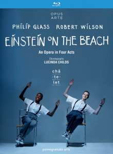 Philip Glass (geb. 1937): Einstein on the Beach, 2 Blu-ray Discs