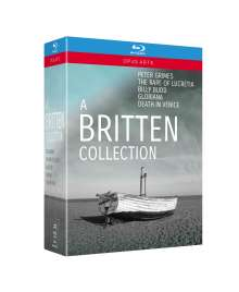 Benjamin Britten (1913-1976): A Britten Collection - 5 Opern auf Blu-Ray, 5 Blu-ray Discs