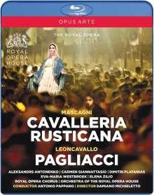 Pietro Mascagni (1863-1945): Cavalleria Rusticana, 2 Blu-ray Discs