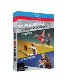 Ballet Du Capitole - 3 Ballette von Kader Belarbi, 3 Blu-ray Discs