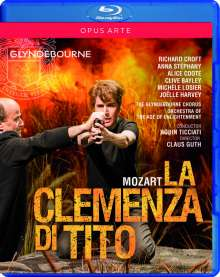 Wolfgang Amadeus Mozart (1756-1791): La Clemenza di Tito, Blu-ray Disc