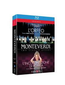 Claudio Monteverdi (1567-1643): L'Orfeo, 2 Blu-ray Discs