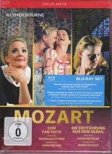 Wolfgang Amadeus Mozart (1756-1791): 3 Opern, 3 Blu-ray Discs