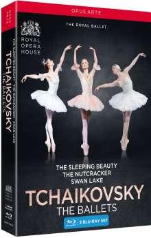 Royal Ballet Covent Garden: Tschaikowsky - The Classic Ballets, 3 Blu-ray Discs