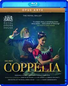 Royal Ballet - Coppelia, Blu-ray Disc