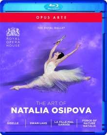 The Art of Natalia Osipova, 4 Blu-ray Discs
