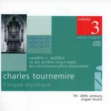 Charles Tournemire (1870-1939): L'Orgue Mystique Vol.3, CD