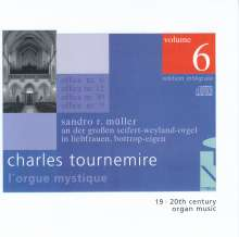 Charles Tournemire (1870-1939): L'Orgue Mystique Vol.6, CD