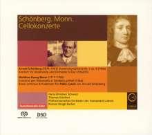 Arnold Schönberg (1874-1951): Cellokonzert D-Dur (nach dem Concerto per Clavicembalo von Matthias Georg Monn), Super Audio CD