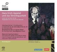 Hans-Erich Apostel (1901-1972): Hans Erich Apostel und das Streichquartett, 3 Super Audio CDs