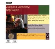 Zsigmond Szathmary (geb. 1939): Orgelwerke, 2 Super Audio CDs