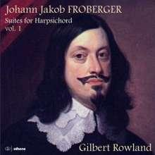 Johann Jacob Froberger (1616-1667): Cembalosuiten Vol.1, 2 CDs