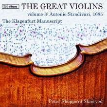 Peter Sheppard Skaerved - The Great Violins Vol.3: Antonio Stradivari 1685, 2 CDs