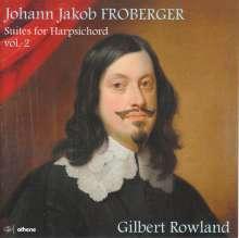 Johann Jacob Froberger (1616-1667): Cembalosuiten Vol.2, 2 CDs