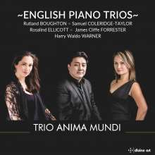 Trio Anima Mundi - English Piano Trios, CD