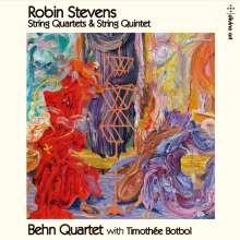 Robin Stevens (geb. 1958): Streichquartette Nr.1 & 2, CD
