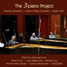 The 3-piano Project, CD