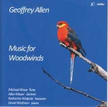 Geoffrey Allen (geb. 1927): Kammermusik für Bläser, CD