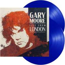 Gary Moore: Live From London (180g) (Limited Edition) (Light Blue Vinyl), 2 LPs