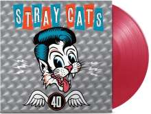 Stray Cats: 40 (180g) (Limited Edition) (Red Vinyl), LP