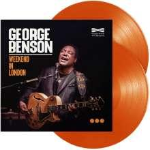 George Benson (geb. 1943): Weekend In London (180g) (Limited Edition) (Orange Vinyl), 2 LPs